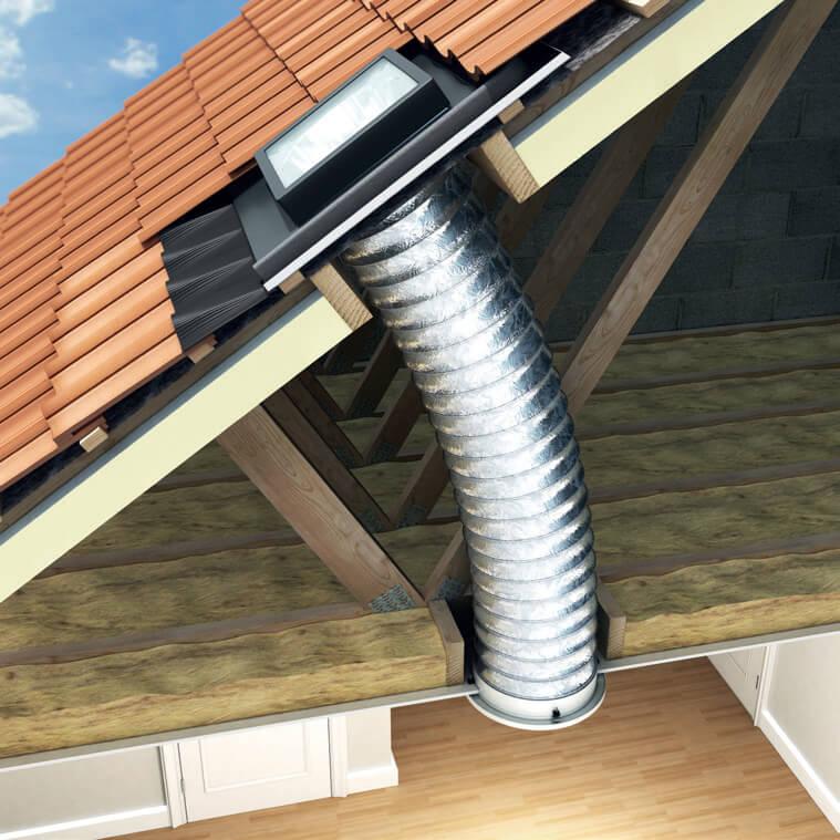 Sun Lite Tube System Keylite Roof Windows